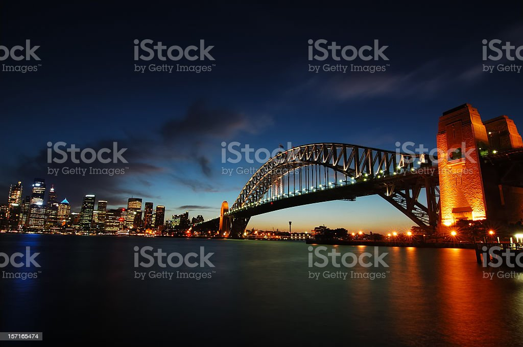 Sydney harbour royalty-free stock photo