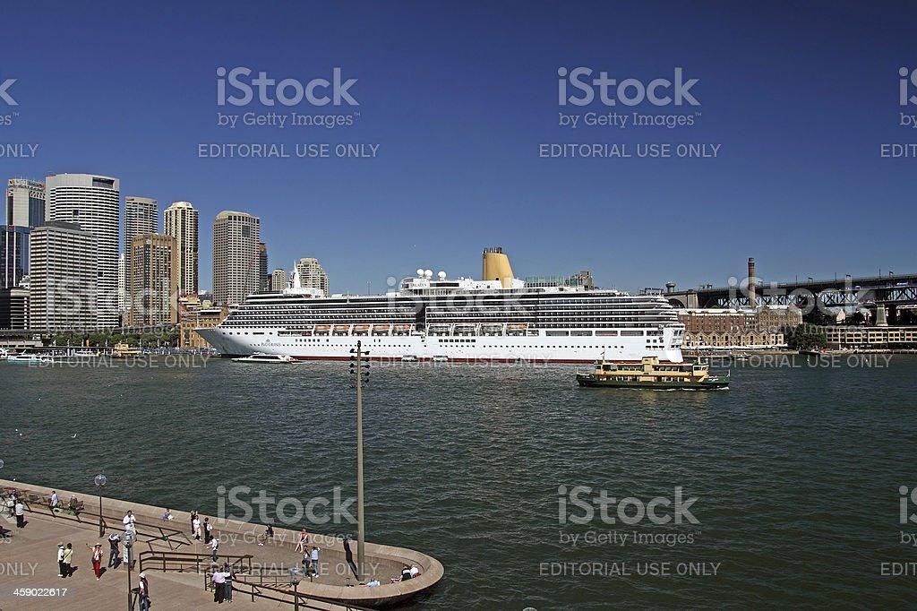 Sydney Harbour royalty-free stock photo