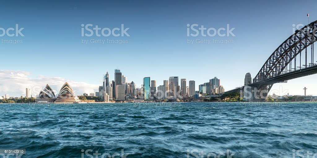 Sydney harbour stock photo