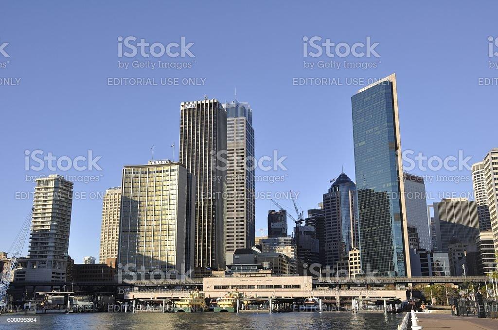 Sydney Harbour Skyline stock photo