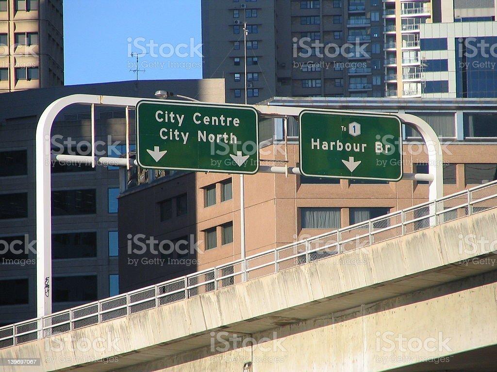 Sydney Highway royalty-free stock photo
