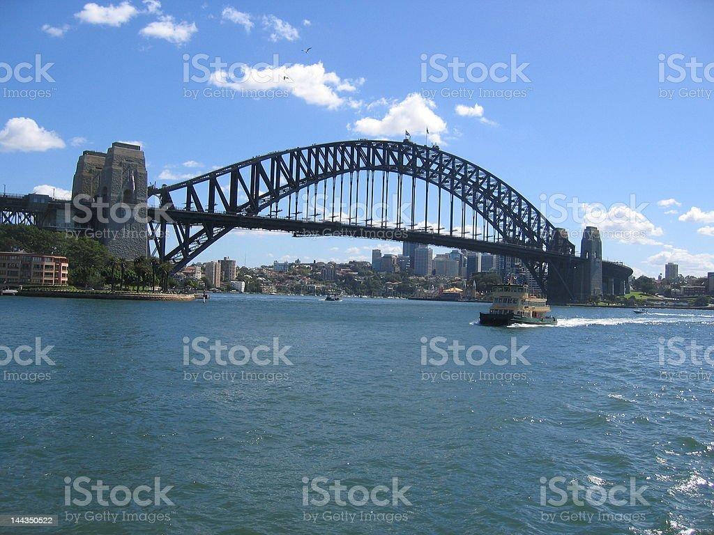 Sydney Hrbour Bridge, Australia. royalty-free stock photo