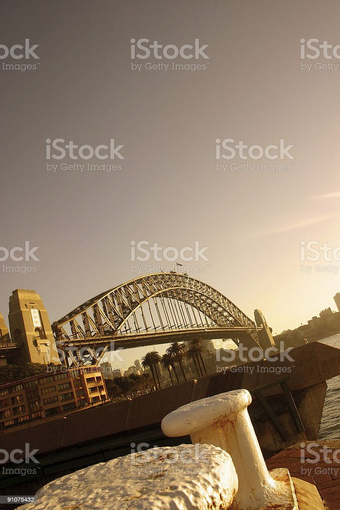 sydney in the morning royalty-free stock photo