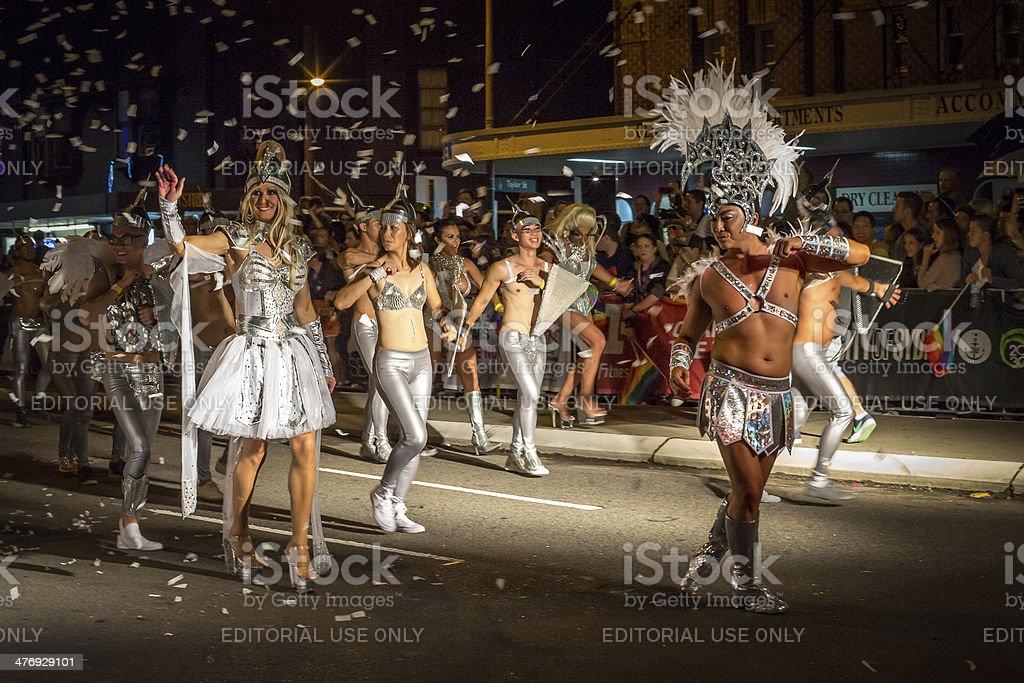 Sydney Mardi Gras Parade stock photo