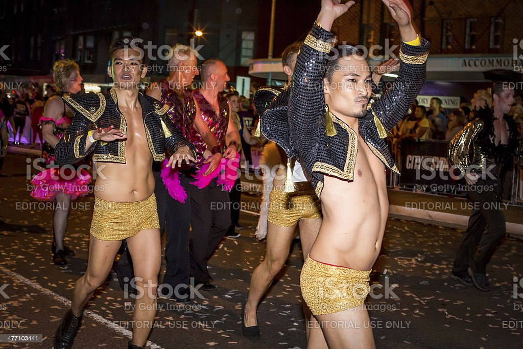 Sydney Mardi Gras Parade stock photo
