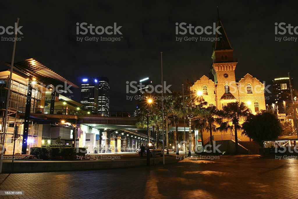 sydney night royalty-free stock photo