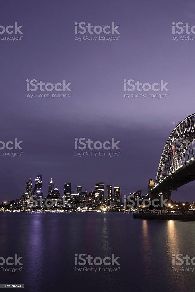 sydney nightlife royalty-free stock photo