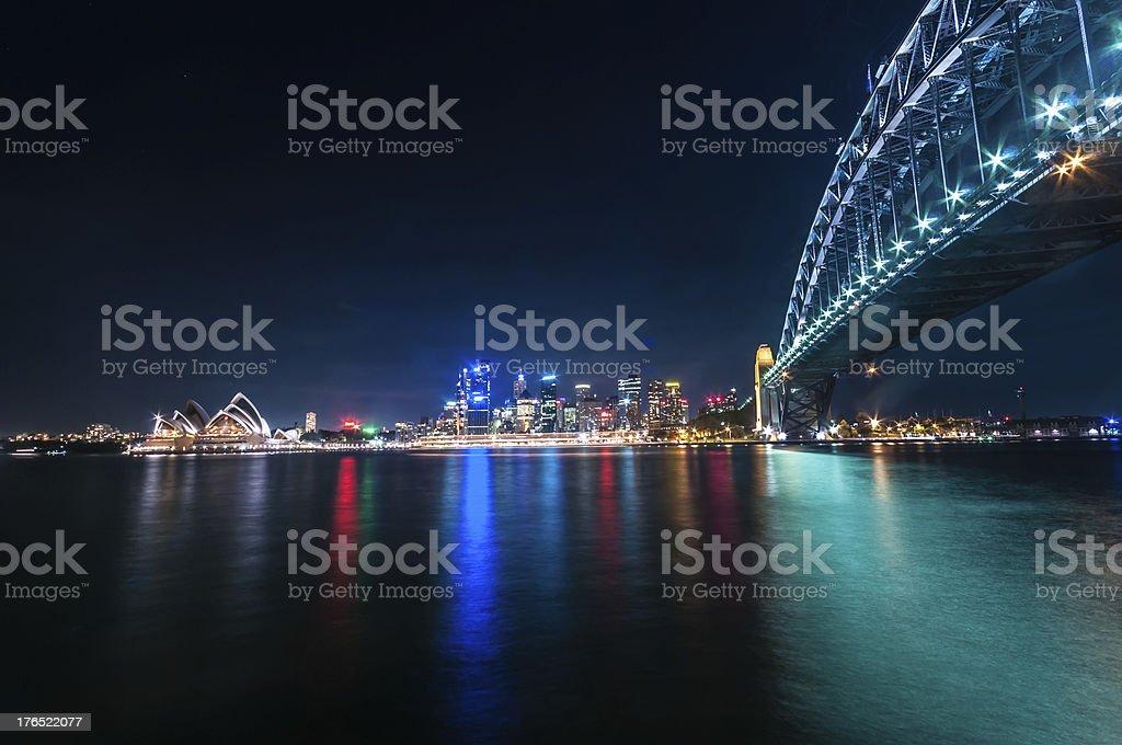 Sydney October 10,2009-Sydney Harbour stock photo