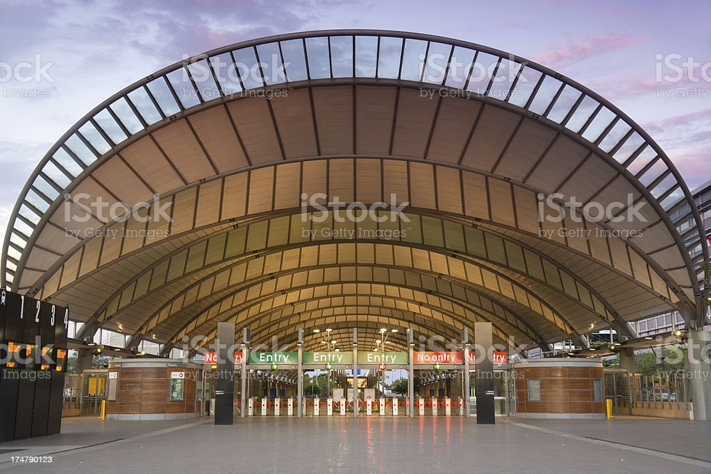 Sydney Olympic Park Railway Station Stock Photo 174790123