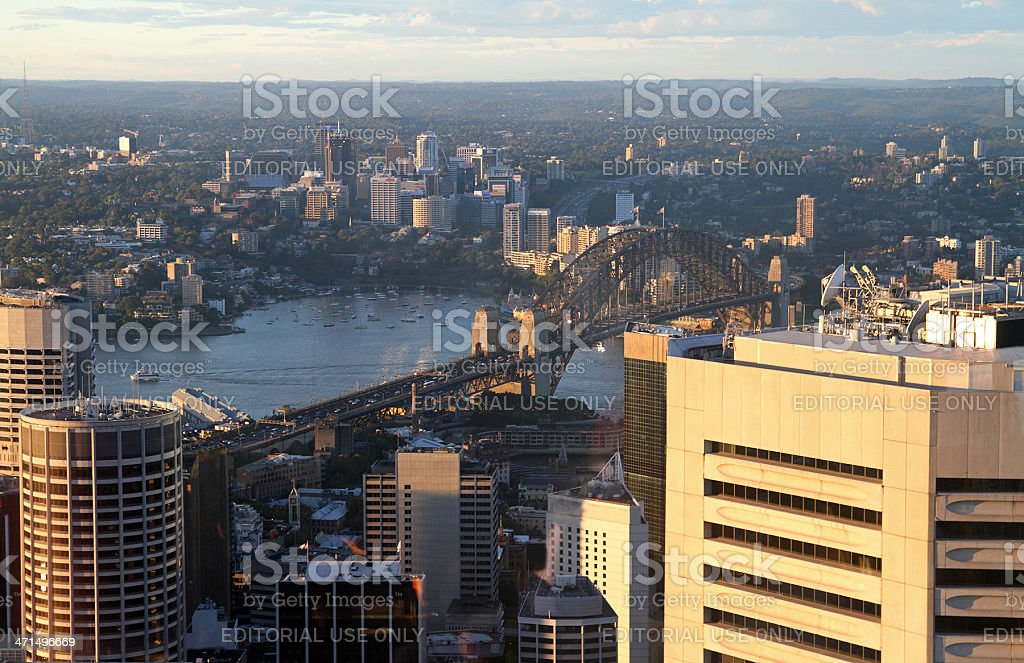 Sydney on sunset royalty-free stock photo