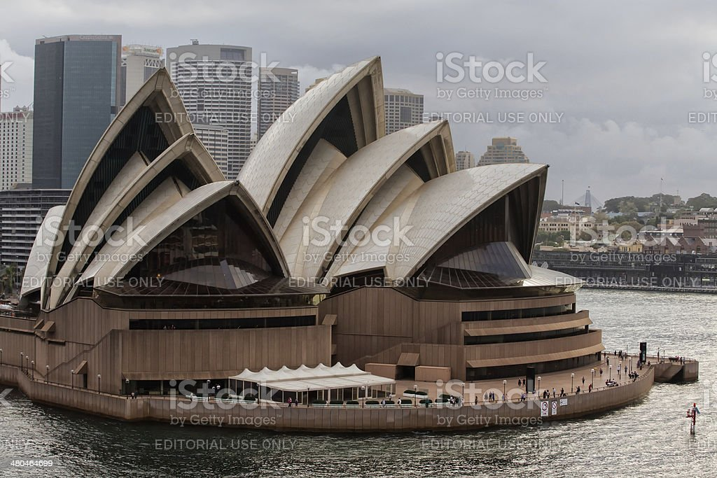 Sydney Opera House 50th anniversary royalty-free stock photo