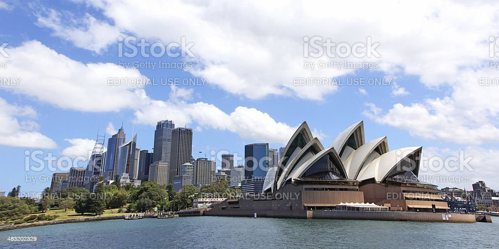 Sydney Opera House and Skyline stock photo