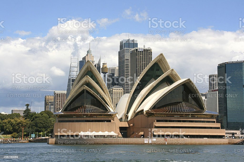 Sydney Opera House, Australia royalty-free stock photo