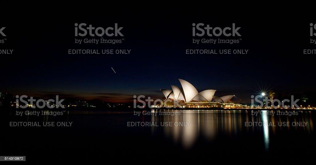 Sydney Opera House By Night stock photo