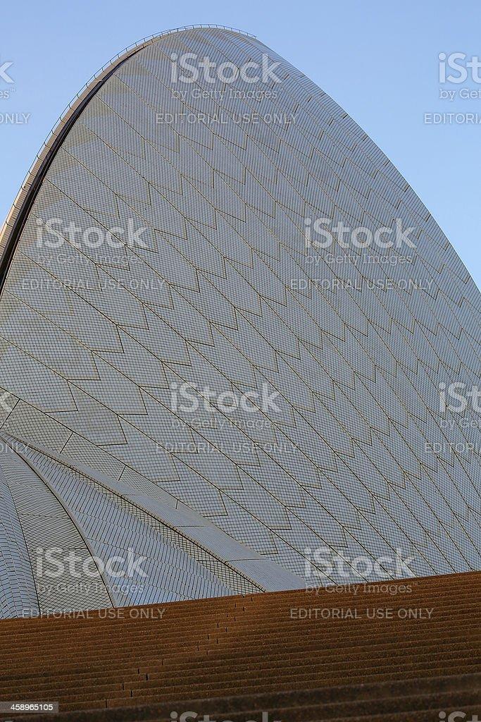 Sydney Opera House Closeup Detail royalty-free stock photo
