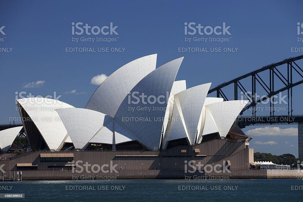Sydney Opera House Horizontal royalty-free stock photo
