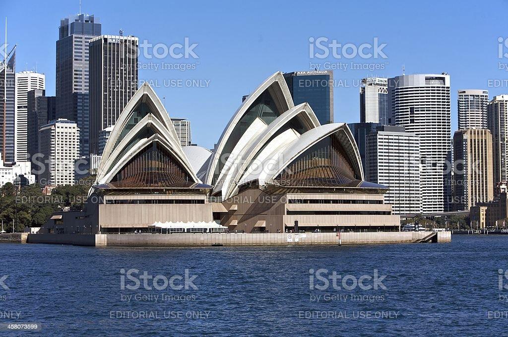 Sydney Opera House in Australia royalty-free stock photo