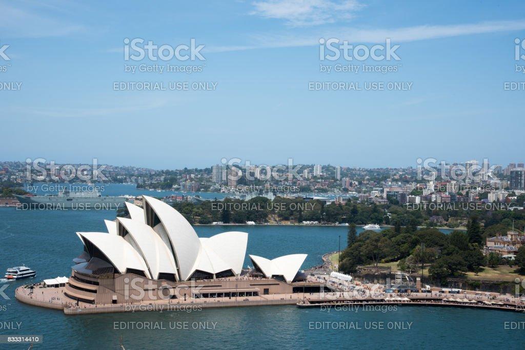Sydney Opera House Landmark stock photo