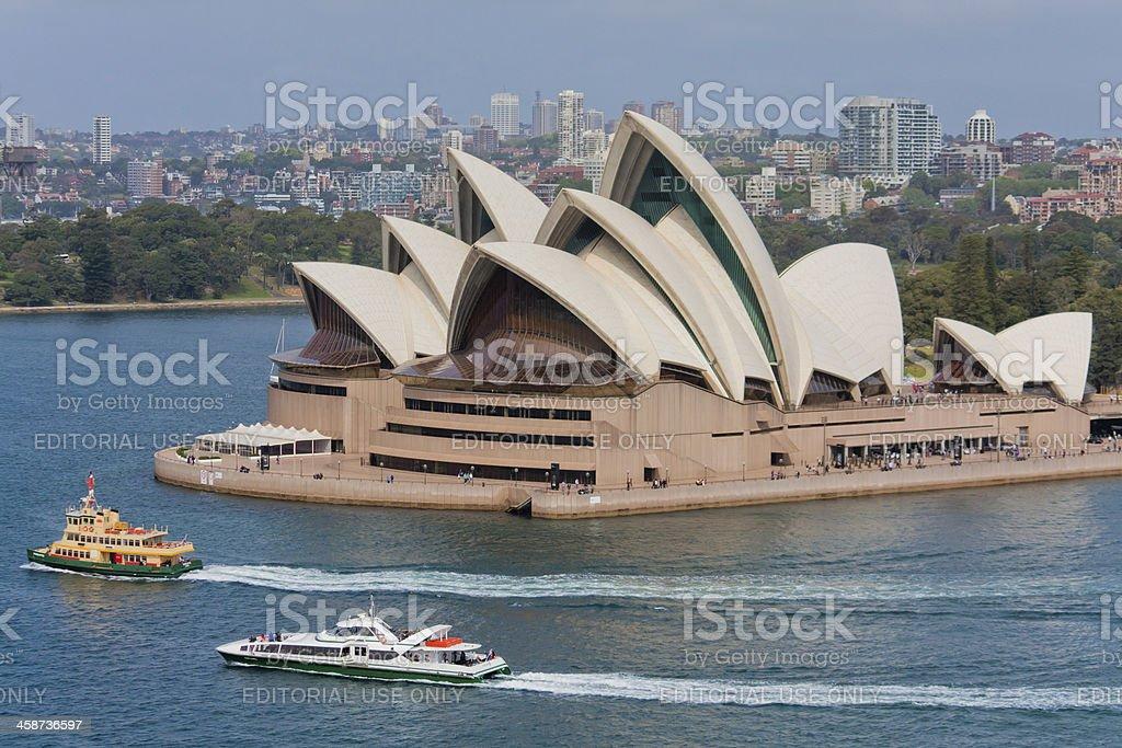 Sydney Opera House, NSW Australia royalty-free stock photo