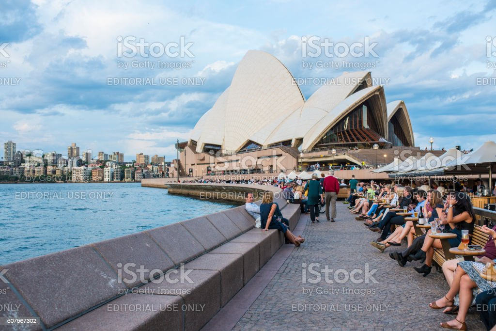 Sydney Opera House stock photo