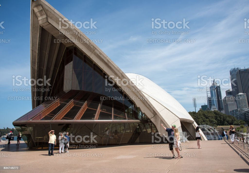 Sydney Opera House Restaurant Front stock photo