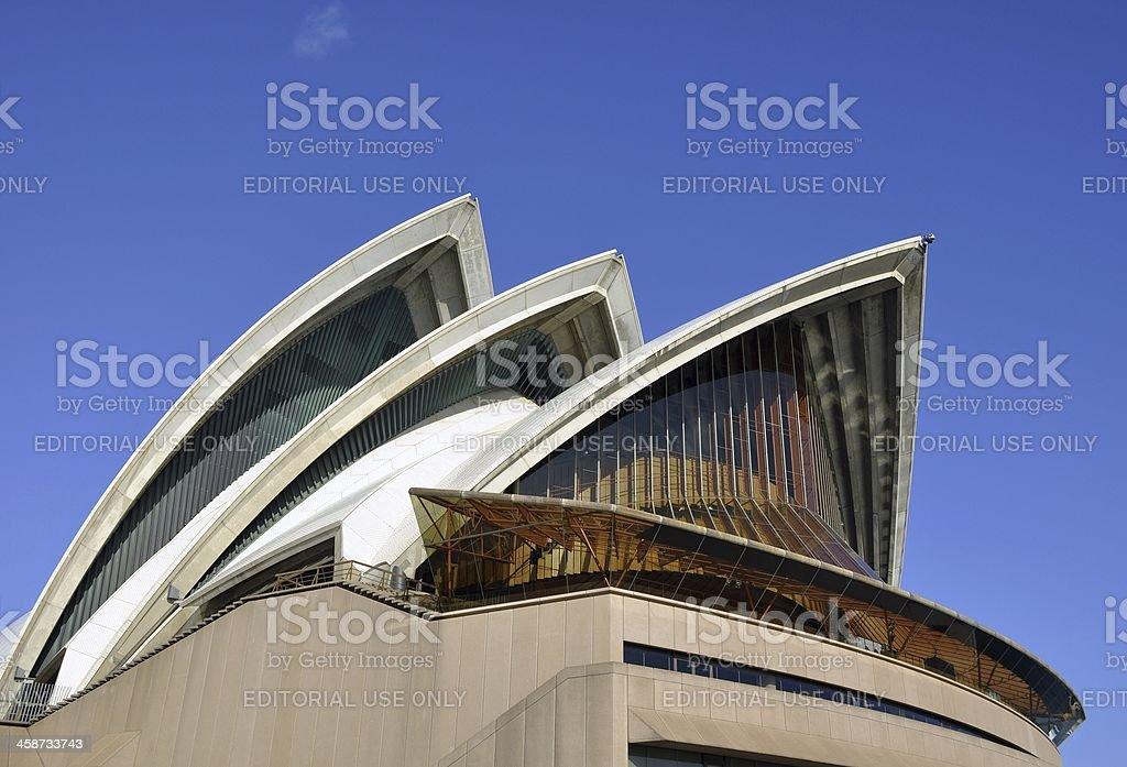 Sydney Opera House roof royalty-free stock photo