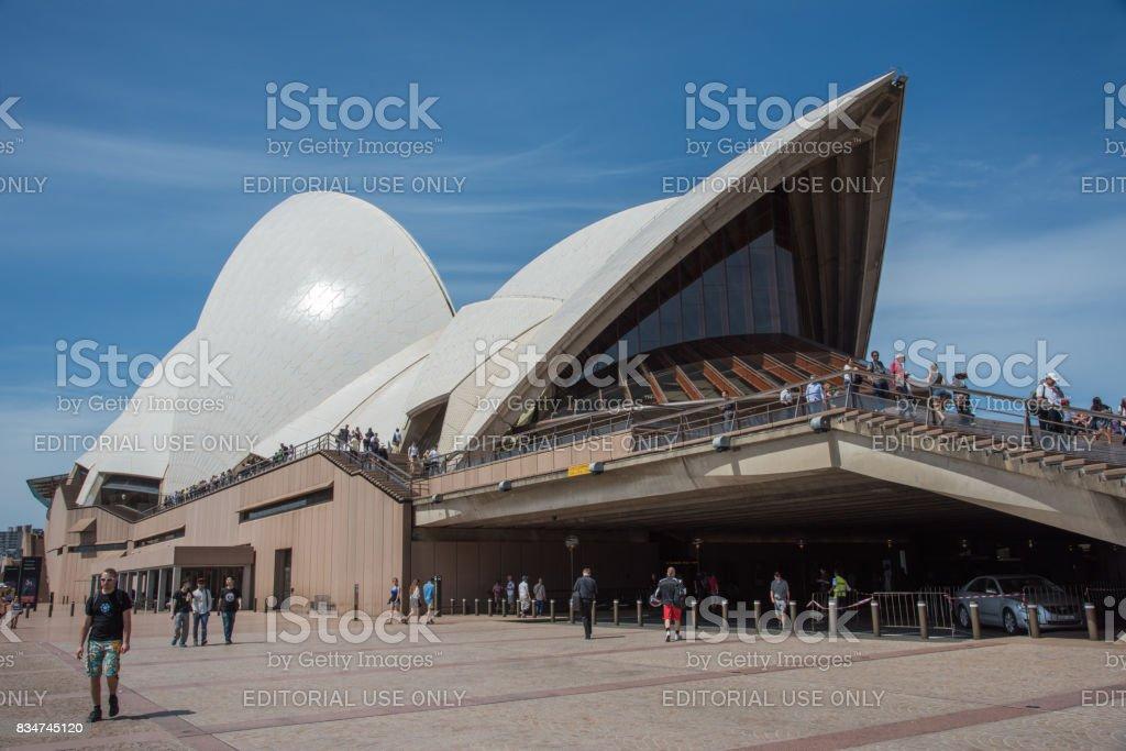Sydney Opera House Rooftop stock photo