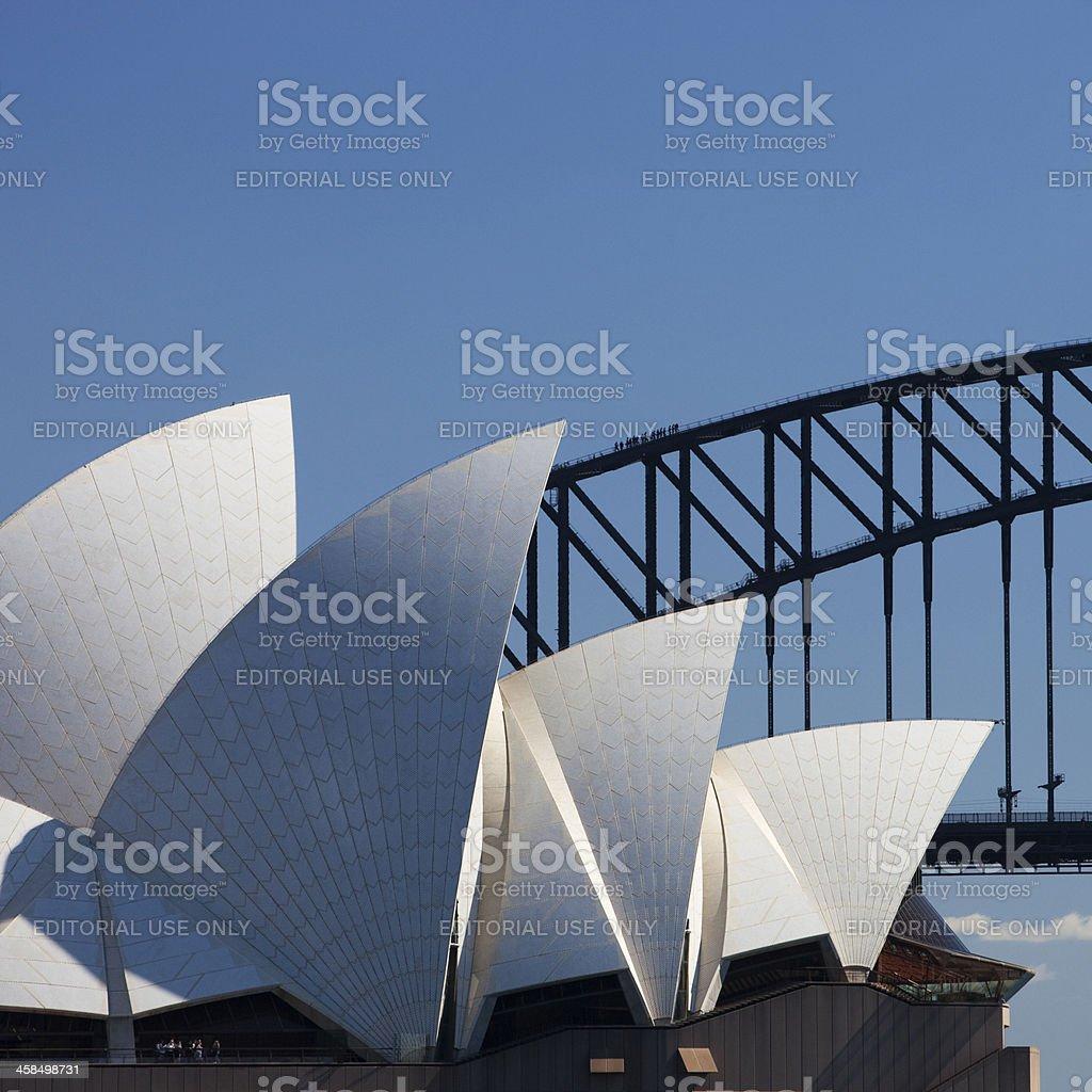 Sydney Opera House Square royalty-free stock photo