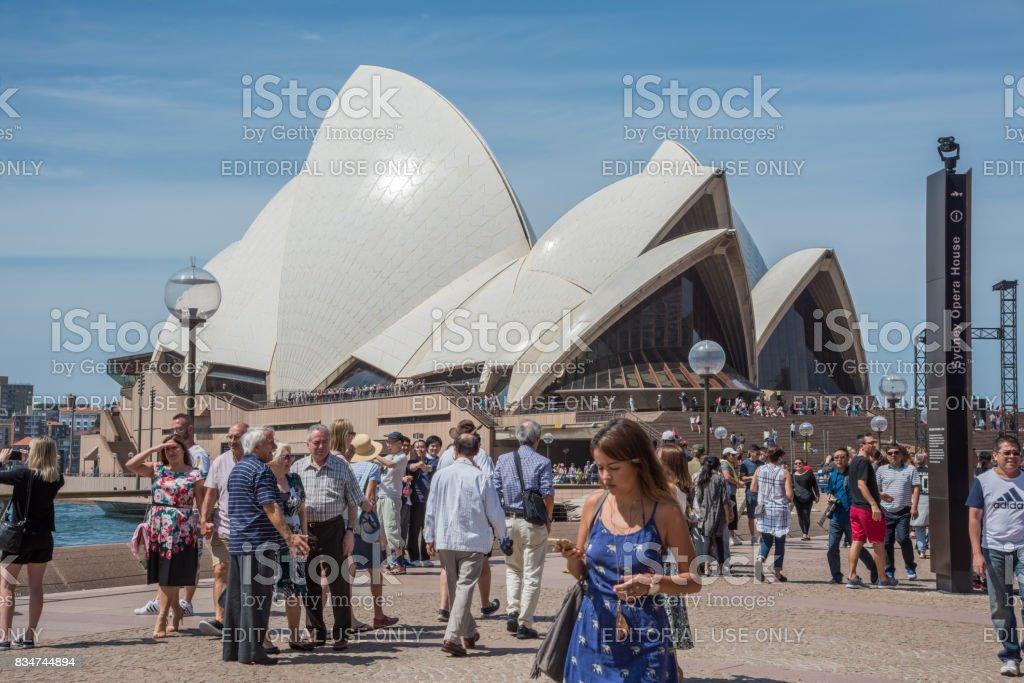 Sydney Opera House Theatre stock photo