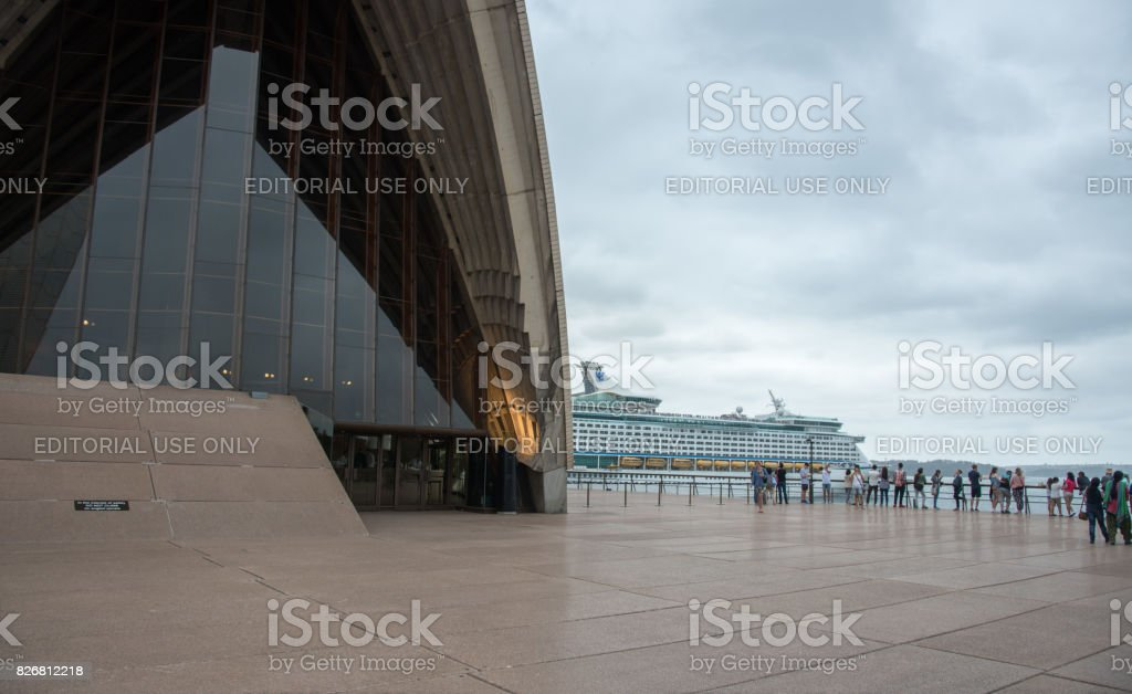 Sydney Opera House with Harbour View stock photo