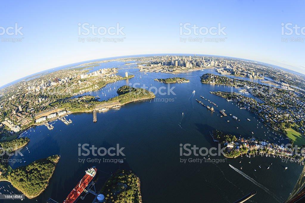 Sydney panorama royalty-free stock photo