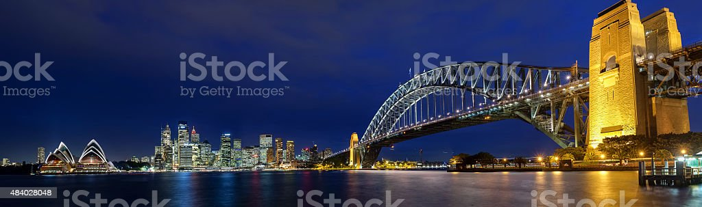Sydney Panoramic View stock photo