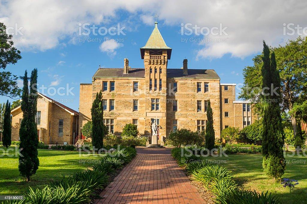 Sydney Private School stock photo