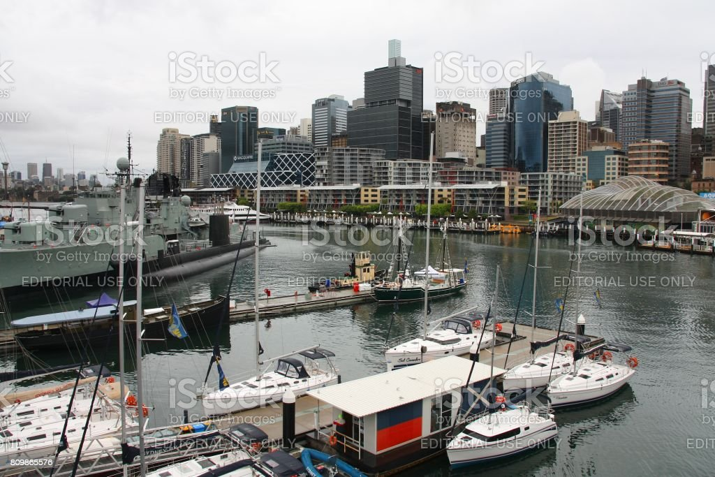 Sydney - Pyrmont stock photo