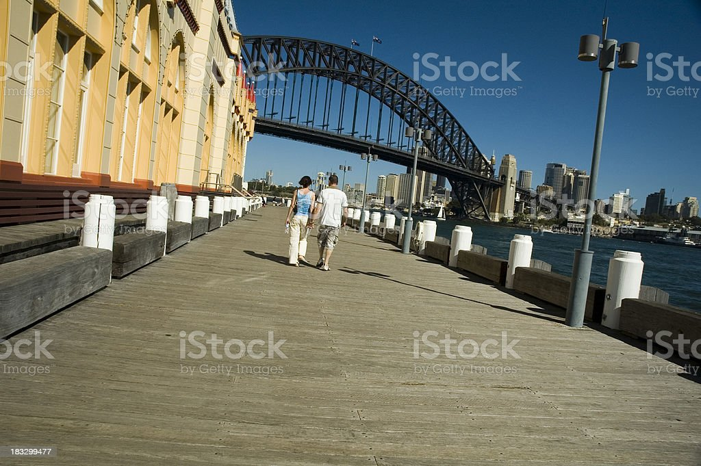 Sydney romance stock photo