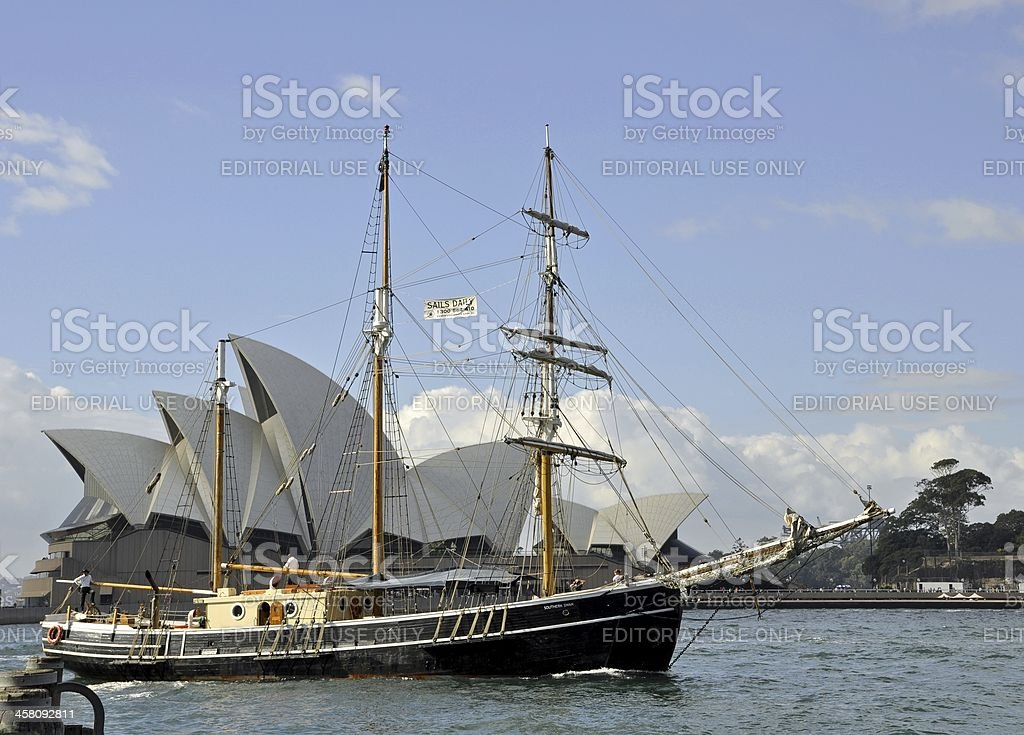 Sydney Sailing excursion royalty-free stock photo