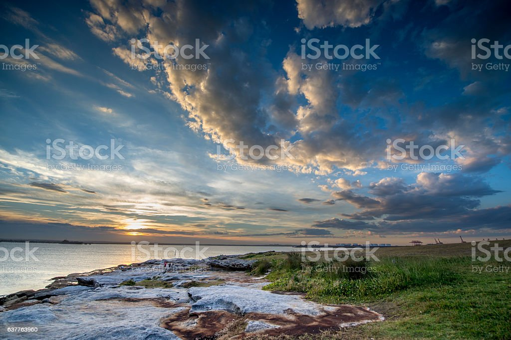 Sydney seascape stock photo