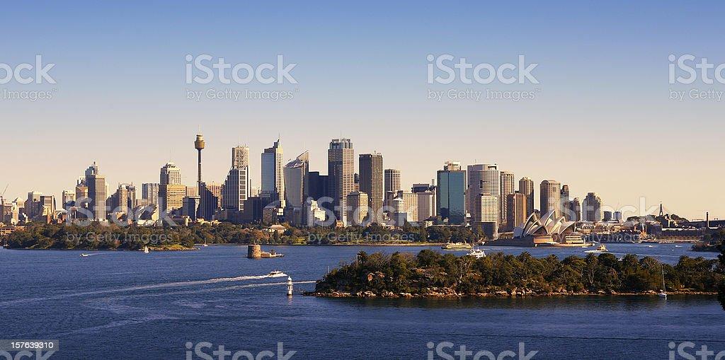 Sydney Skyline, Australia stock photo