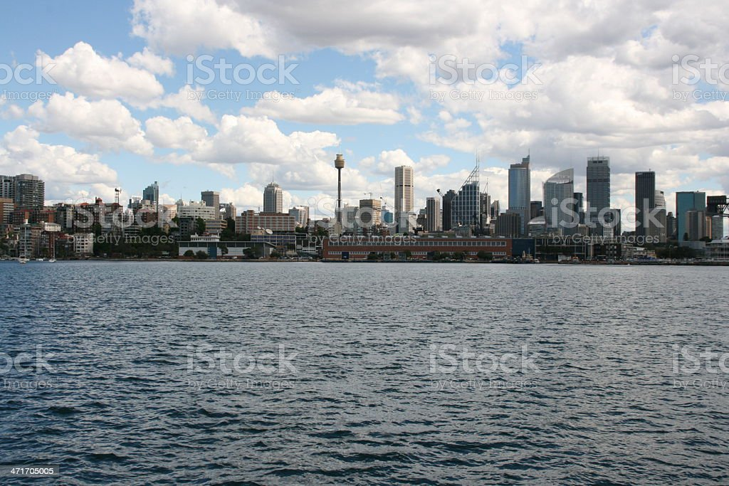 Sydney Skyline, australia royalty-free stock photo