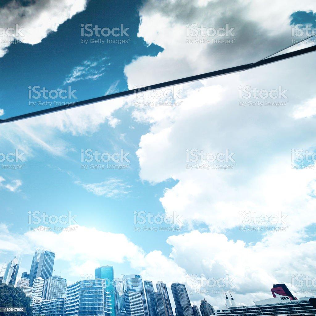 Sydney skyline - downtown district royalty-free stock photo