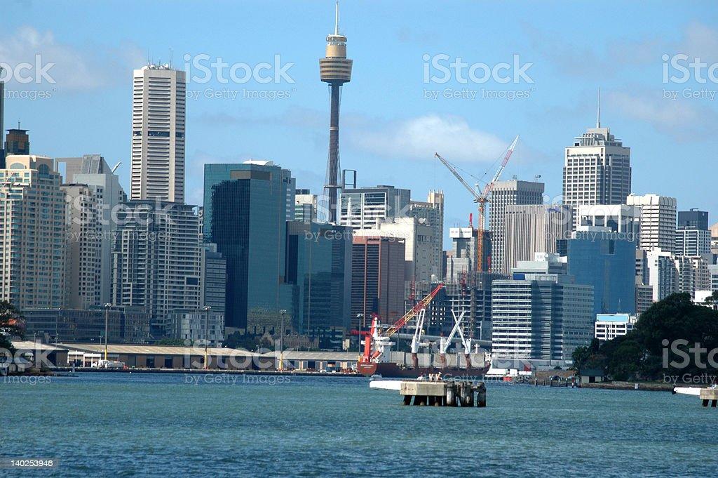 Sydney Skyline royalty-free stock photo