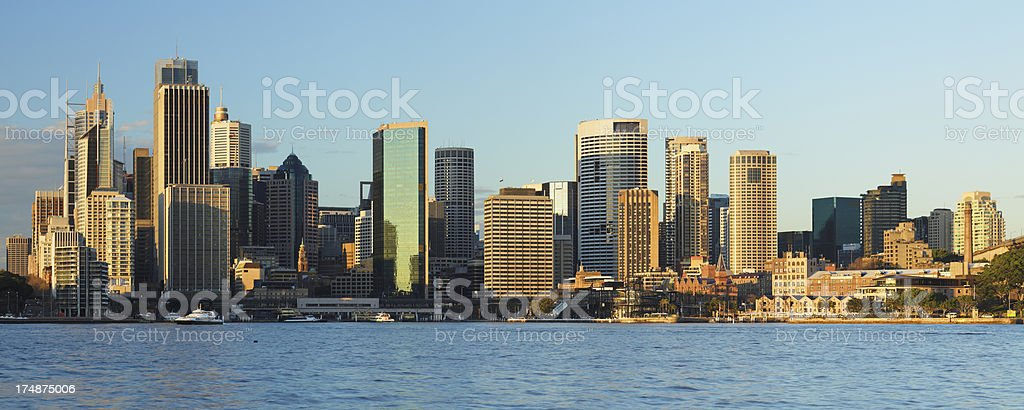 Sydney Skyline royalty-free stock photo