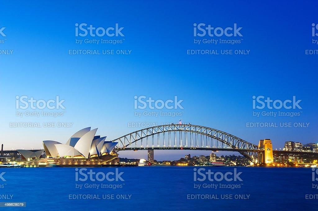 Sydney Skyline stock photo