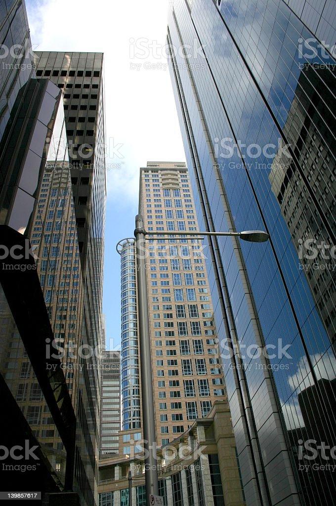 Sydney Skyscrapers royalty-free stock photo