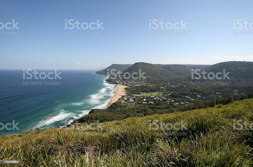 Sydney South Coast Landscape stock photo