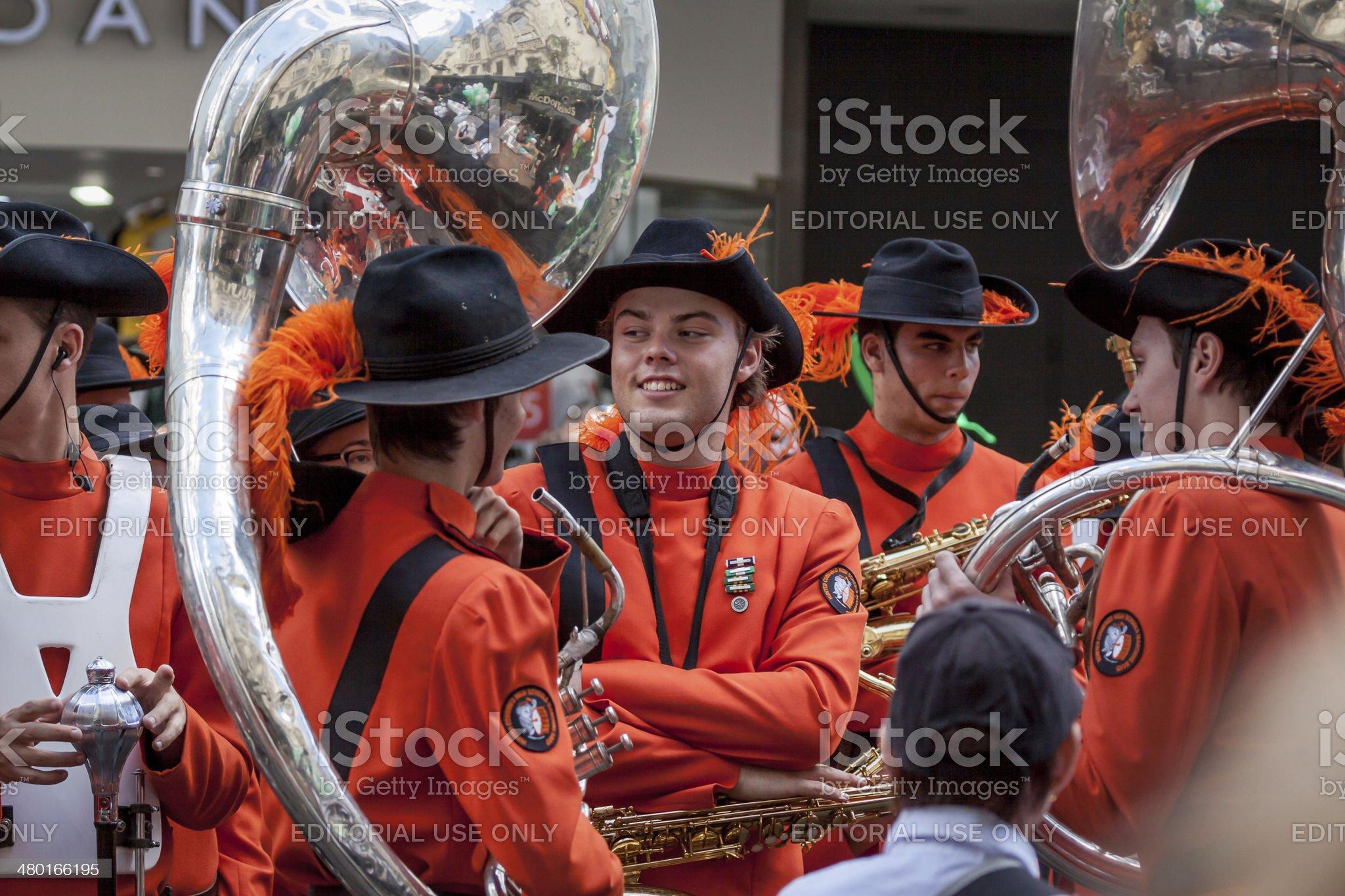 Sydney St Patrick's Day  Parade royalty-free stock photo
