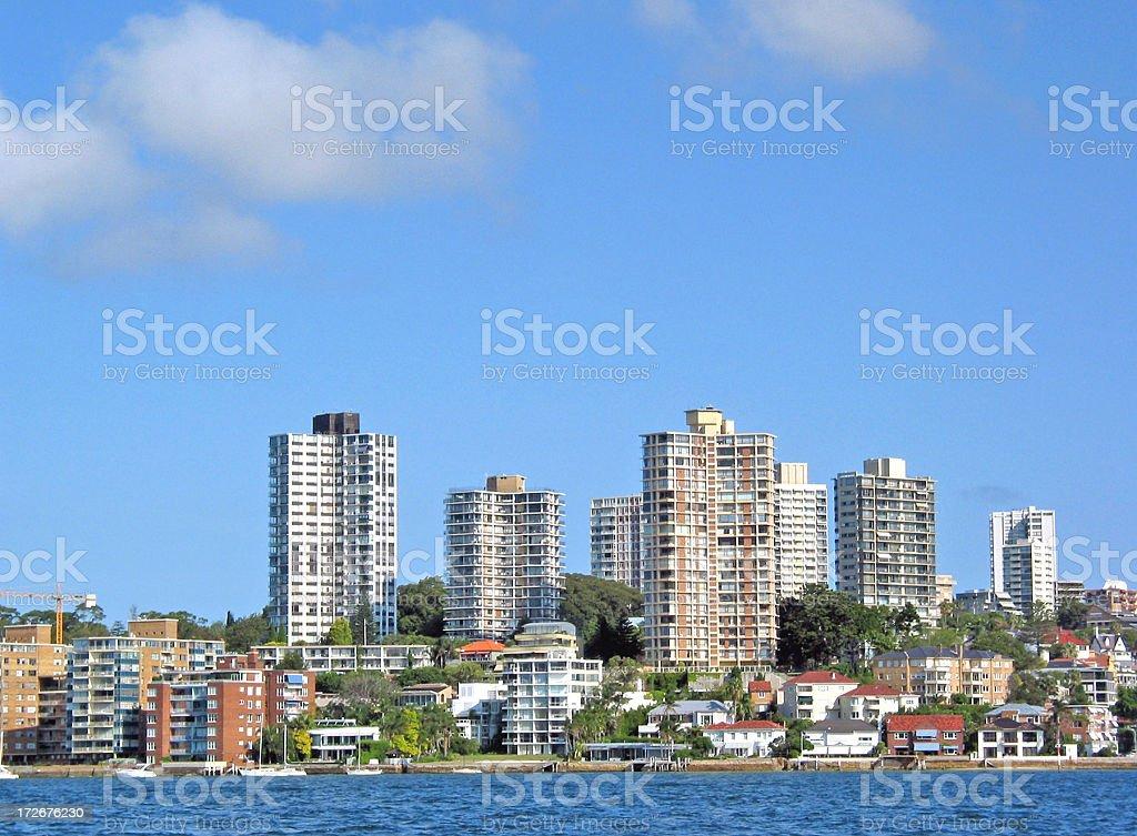 Sydney Suburbs stock photo
