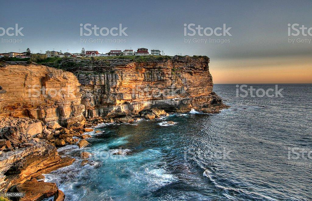 Sydney Sunrise stock photo