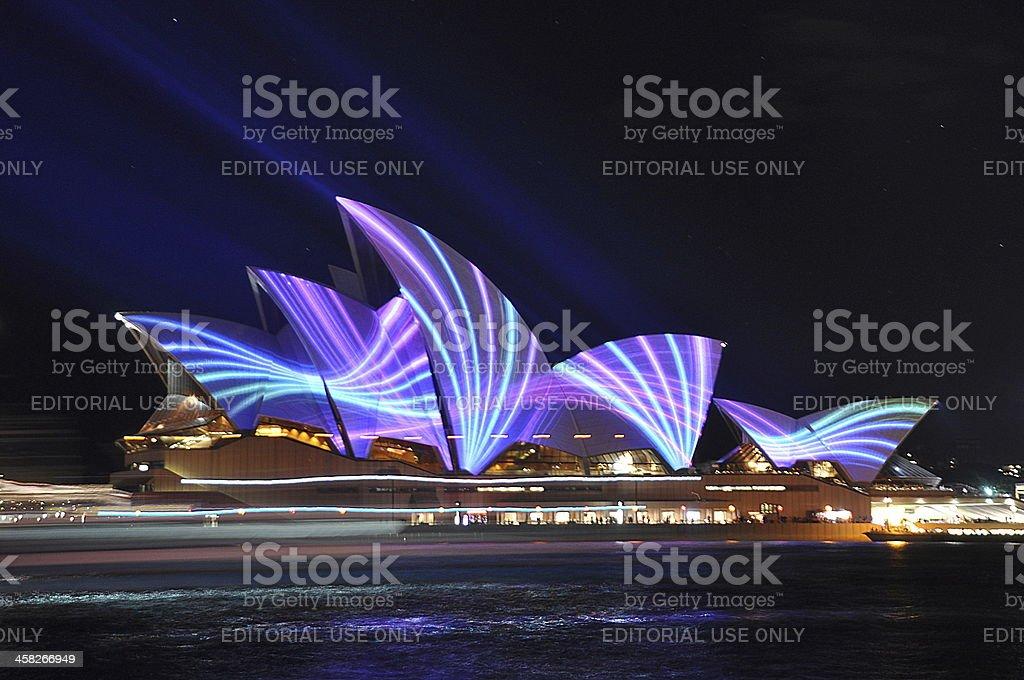 Sydney Vivid Festival 2013 royalty-free stock photo