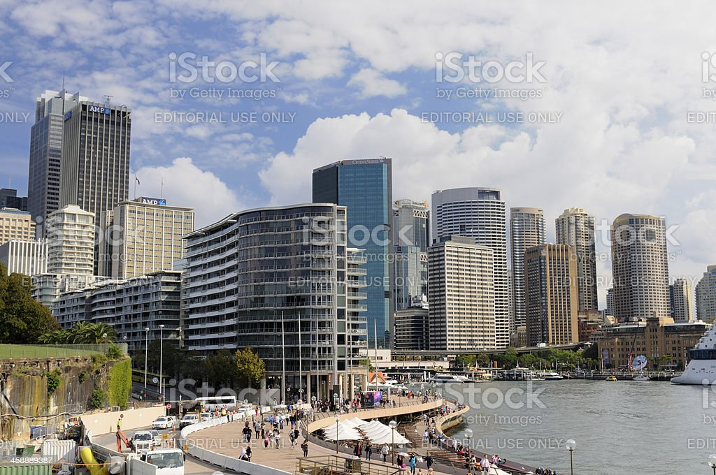 Sydney Waterfront royalty-free stock photo